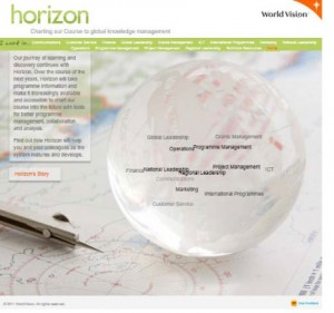 Horizon's website