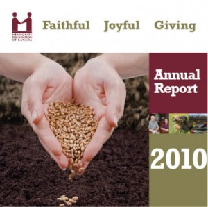 Mennonite Foundation of Canada's Annual Report
